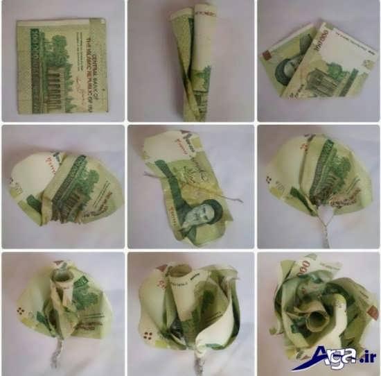 ایده و آموزش تزیین پول
