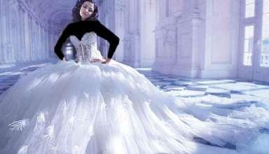مدل لباس عروس عروسکی شیک