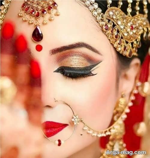مدل خط چشم عروس زیبا