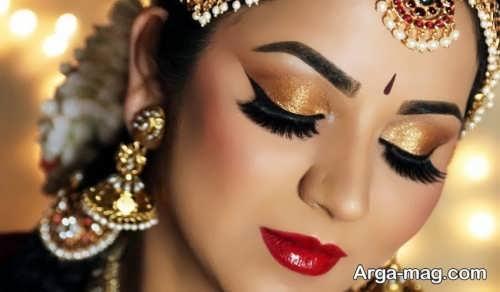خط چشم عروس زیبا