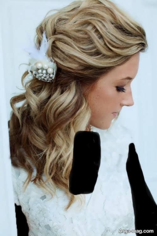 مدل موی زیبا و شیک عروس