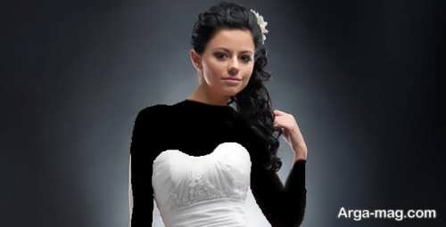 مدل موی عروس برای صورت گرد با جدیدترین متدها