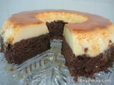 طرز تهیه کیک کاراملی در خانه