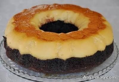 دستور تهیه کیک کاراملی