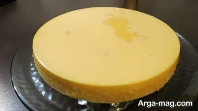 روش پخت کیک کاراملی در خانه