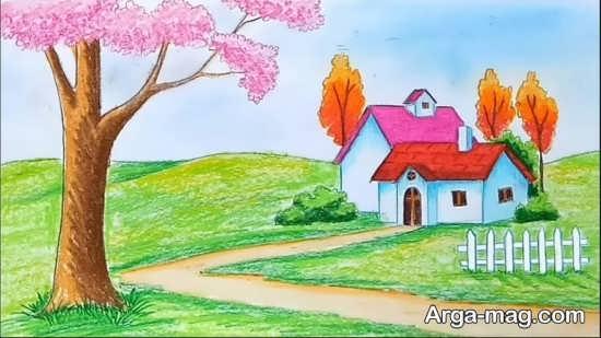 ایده جذاب برای نقاشی کودکانه