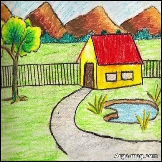 نقاشی طبیعت برای کودکان