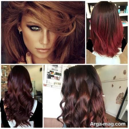 انواع مدل های رنگ موهای ترکیبی