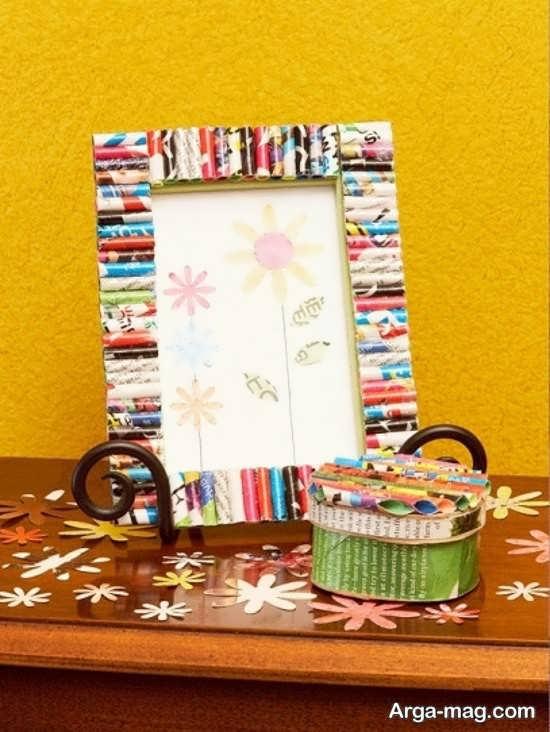 انواع خلاقیت با کاغذ شکلات