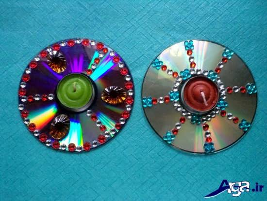 انواع جا شمعی با سی دی