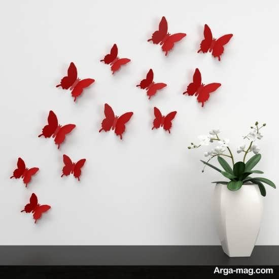 انواع تزیینات دیوار با مقوا و کاغذهای رنگی