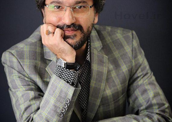 گریم متفاوت امیر حسین مدرس