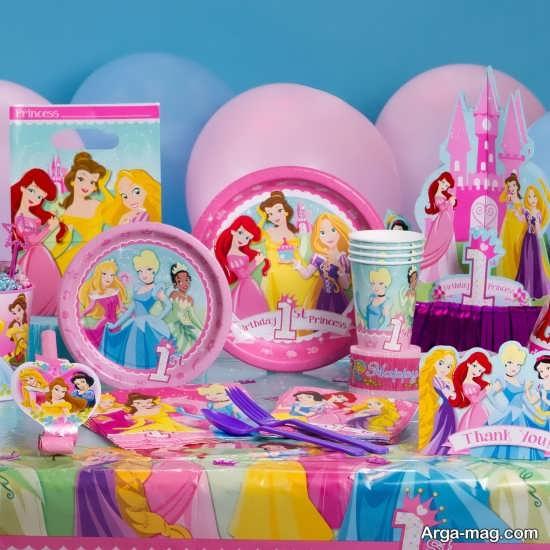 انواع ایده برای تزیین جشن تولد دخترانه