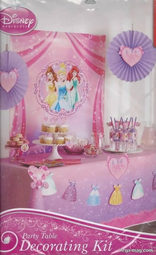 عکس تزیین جشن تولد با تم های دخترانه