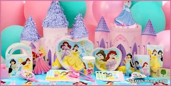 تم های جشن تولد با پرنسس های دیزنی