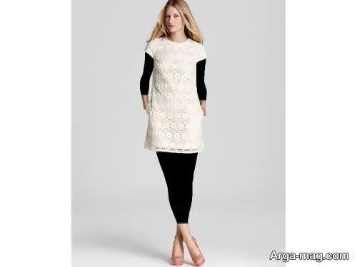مدل پیراهن کوتاه گیپور