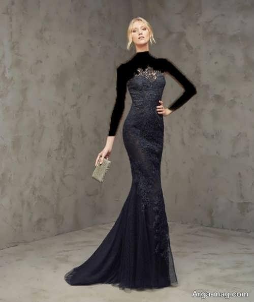 مدل لباس گیپور بلند دخترانه