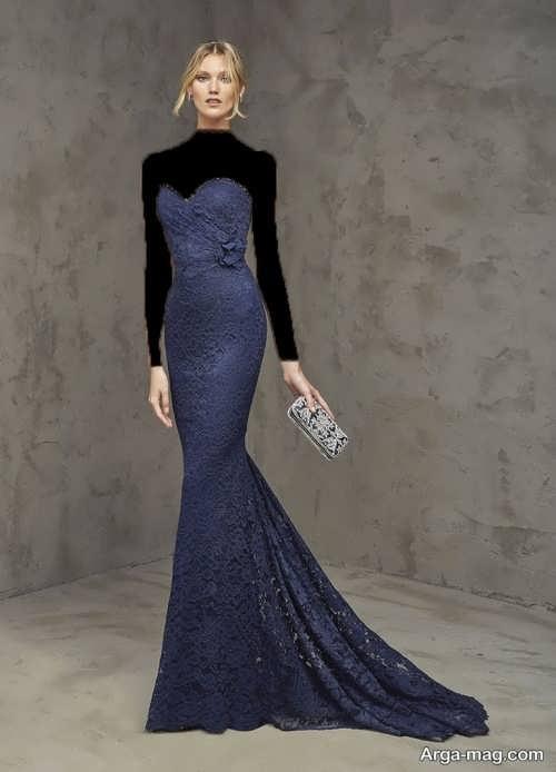 مدل لباس گیپور دکلته دخترانه