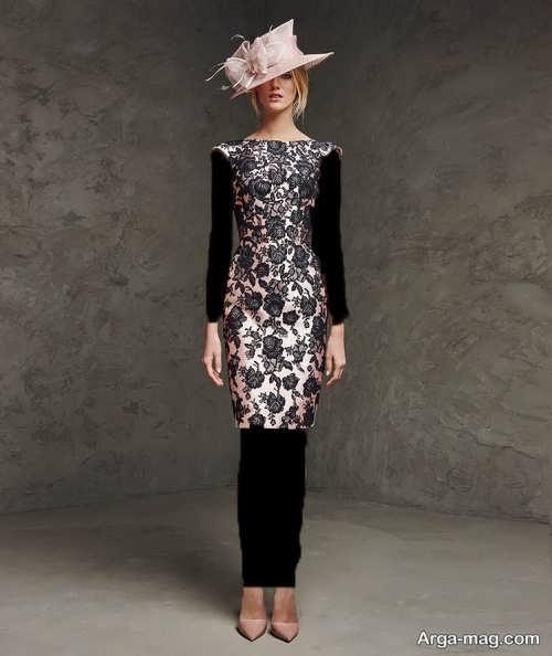 مدل لباس مجلسی گیپور و کوتاه
