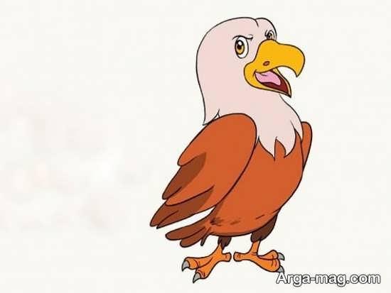 نقاشیهای عقاب کارتونی
