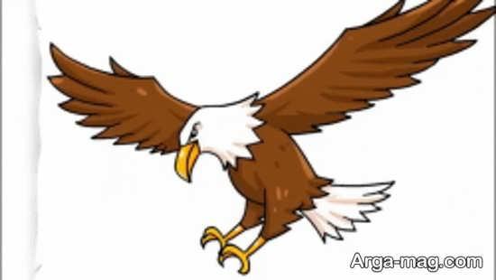 نقاشیهای عقاب جالب