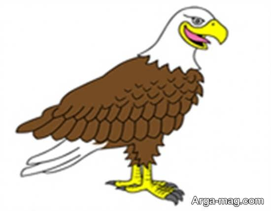 نقاشیهای عقاب جذاب