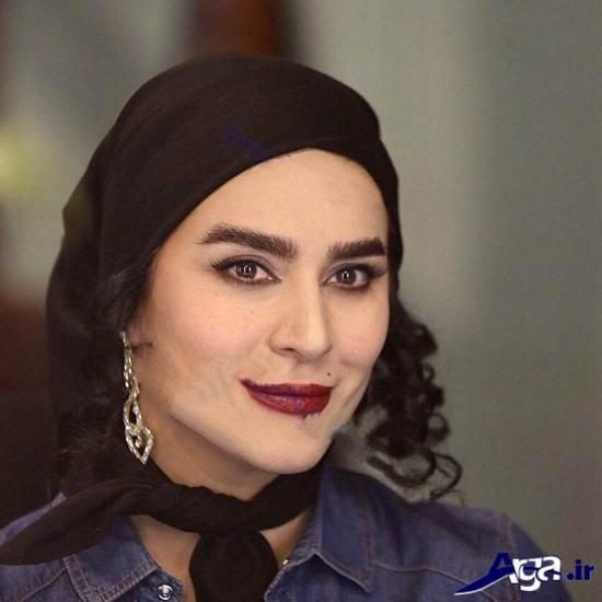گریم عجیب و غریب سحر دولتشاهی