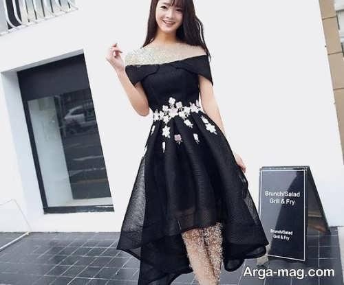 مدل لباس مجلسی فانتزی مشکی