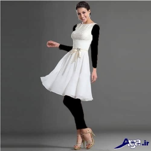 مدل لباس عروس فرانسوی شیک و جذاب برای عروس خانم های ایرانی
