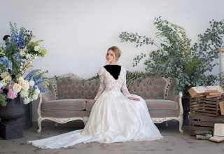 مدل لباس عروس فرانسوی شیک و زیبا