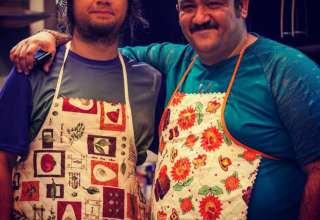 مهران غفوریان و علی صادقی