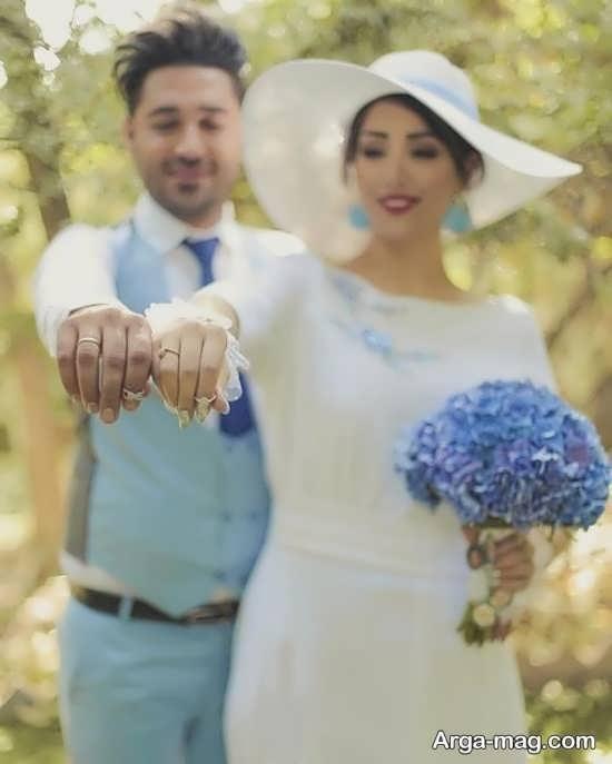 تصاویر ژستهای عروس داماد