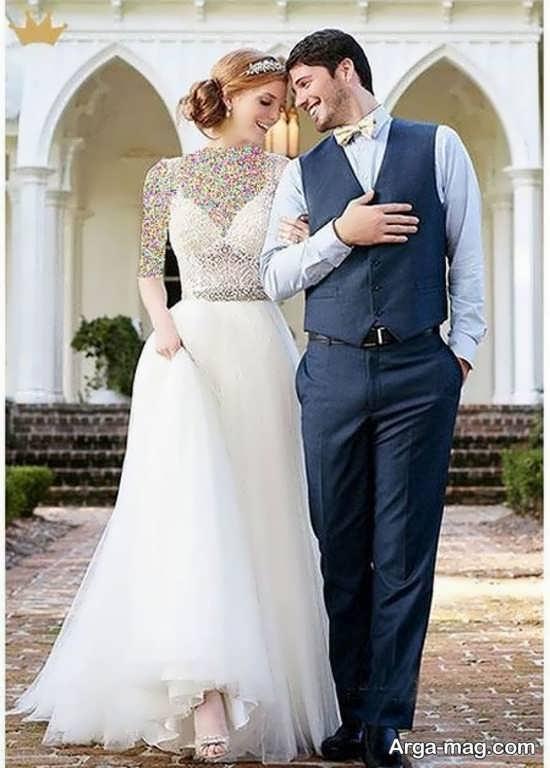 ژستهای عروس داماد