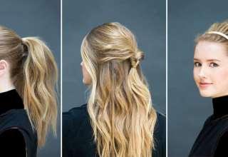 مدل مو دخترانه ساده و شیک