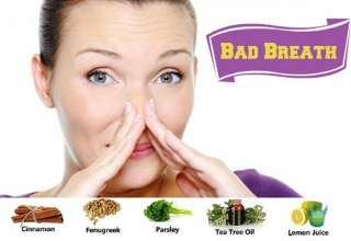 درمان گیاهی بوی بد دهان