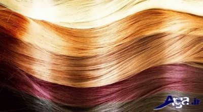انواع رنگ موی گیاهی برای موهای سفید