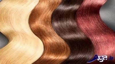 رنگ موهای طبیعی برای موهای سفید