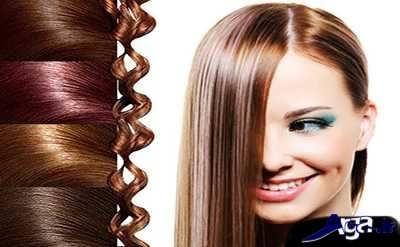 انواع رنگ موی طبیعی برای رنگ کردن موهای سفید