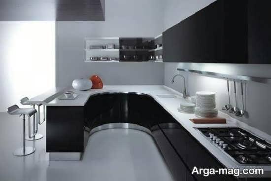 کابینت آشپزخانه هایگلاس مدرن