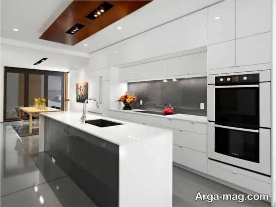 کابینت های آشپزخانه های گلاس