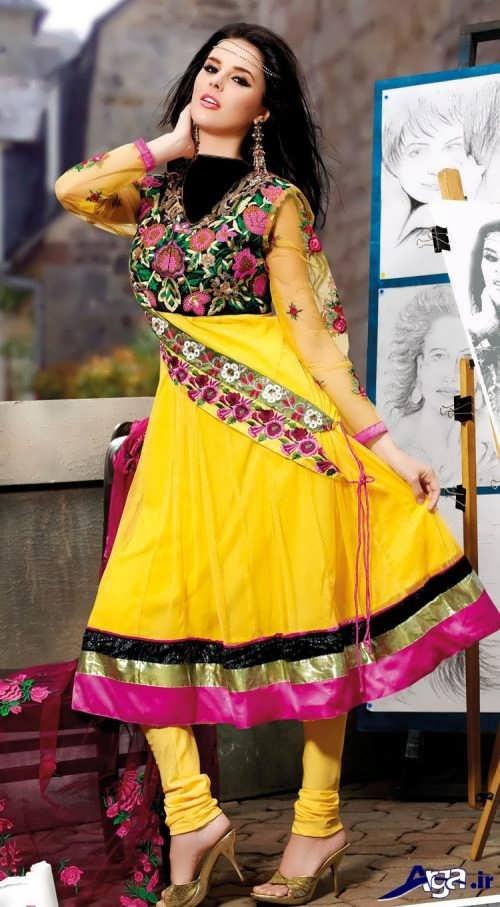 مدل لباس مجلسی هندی زنانه