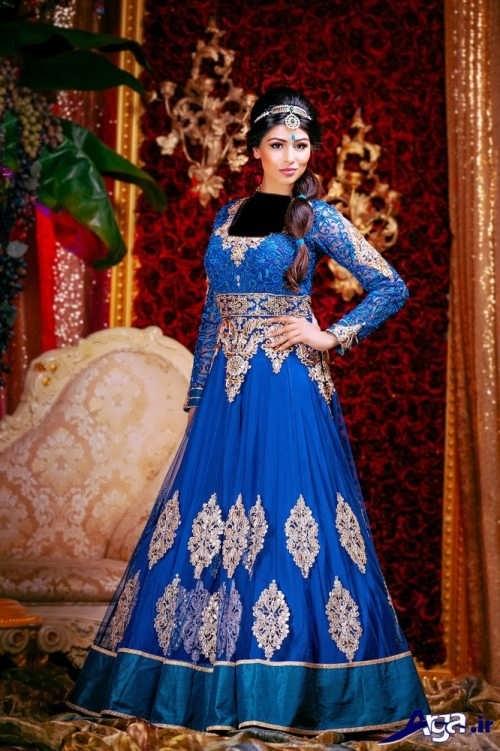 مدل لباس هندی طرح دار و زیبا