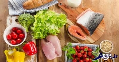 رژِیم غذایی درمان چربی خون