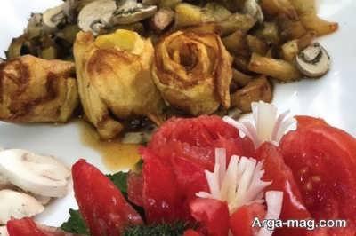 روش تهیه خوراک سبزیجات
