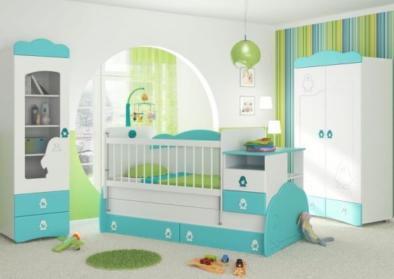 چیدمان سیسمونی نوزاد دختر و پسر