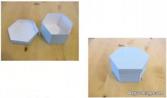 ایده ساخت جعبه کادویی زیبا و شیک