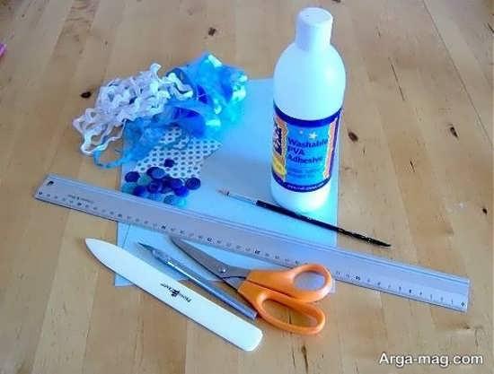 وسایل لازم برای ساختن جعبه کادویی