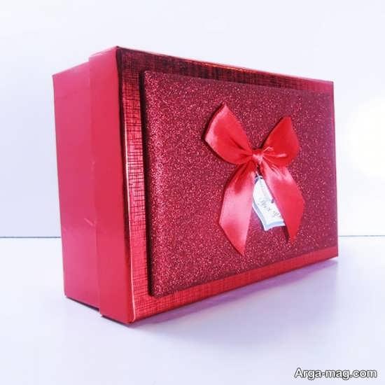 جعبه هدیه زیبا و شیک و فانتزی
