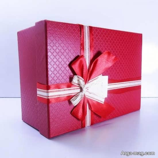 انواع ایده برای تزیین جعبه هدیه