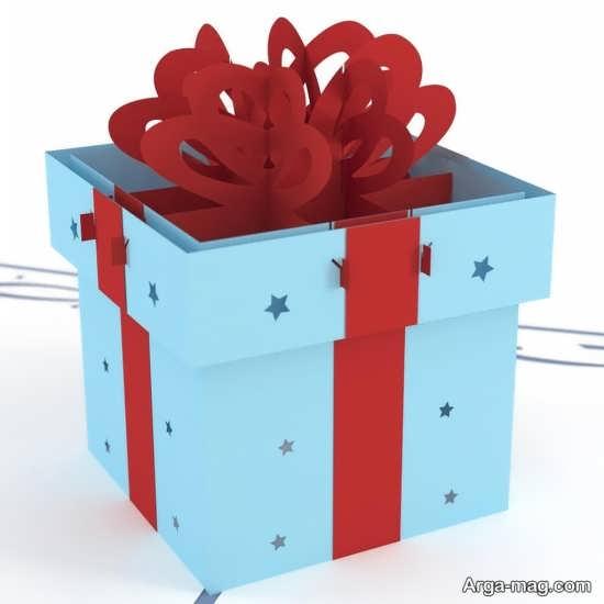 ایده آموزش جعبه کادو زیبا و جذاب